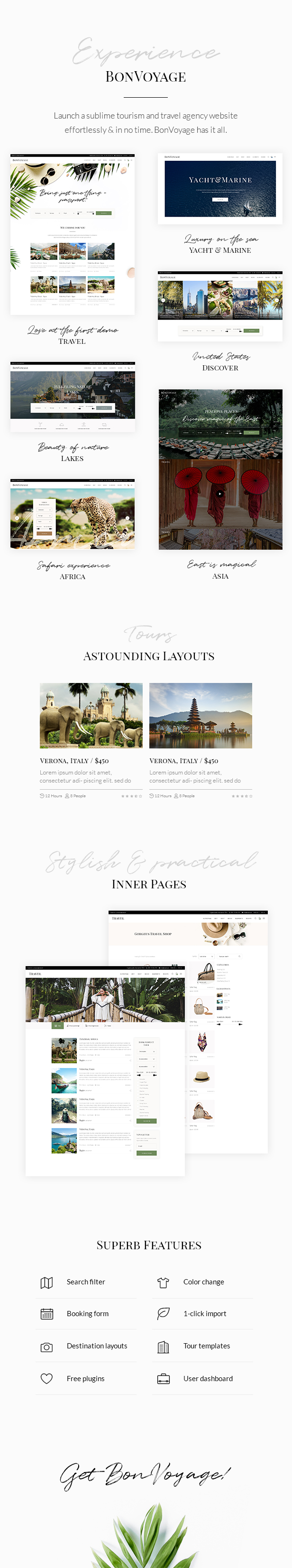 BonVoyage - Travel Agency and Tour Theme - 1